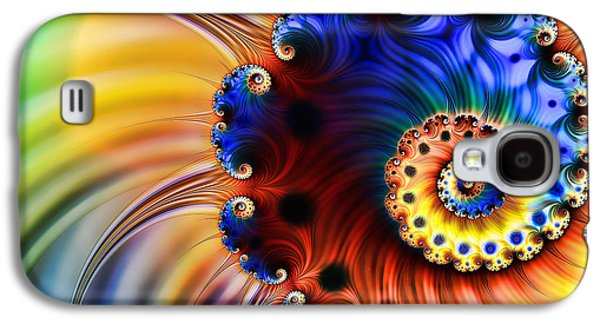 Spin Galaxy S4 Case by Sharon Lisa Clarke
