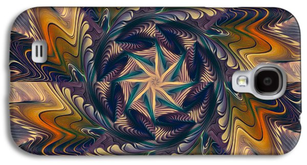 Spinning Energy Galaxy S4 Case by Deborah Benoit