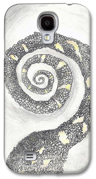 Spiral Galaxy S4 Case by Angela Pelfrey