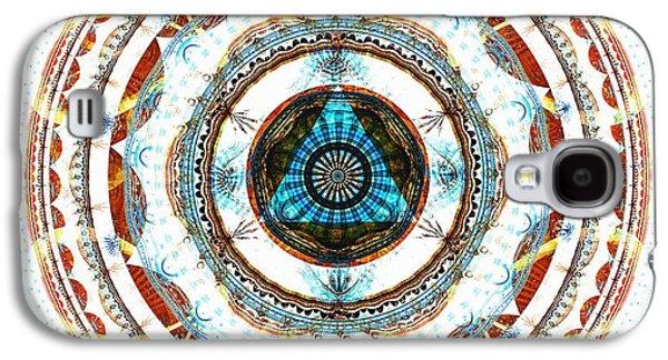 Spirit Circle Galaxy S4 Case by Anastasiya Malakhova