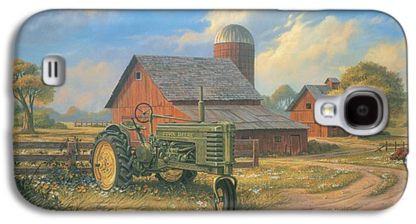 Tractors Galaxy S4 Case - Spirit Of America by Michael Humphries