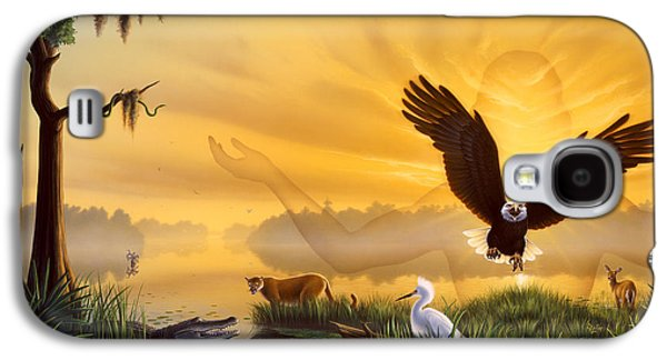 Spirit Of The Everglades Galaxy S4 Case by Jerry LoFaro