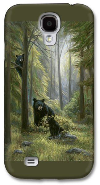 Bear Galaxy S4 Case - Spirits Of The Forest by Lucie Bilodeau