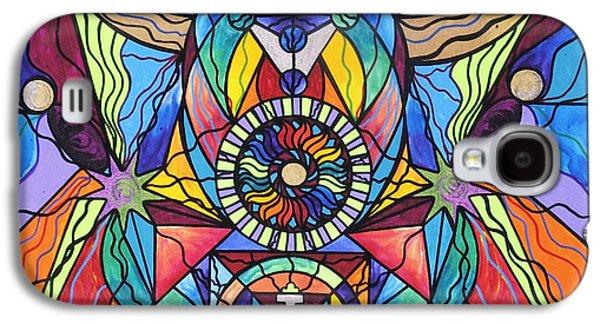 Spiritual Guide Galaxy S4 Case by Teal Eye  Print Store