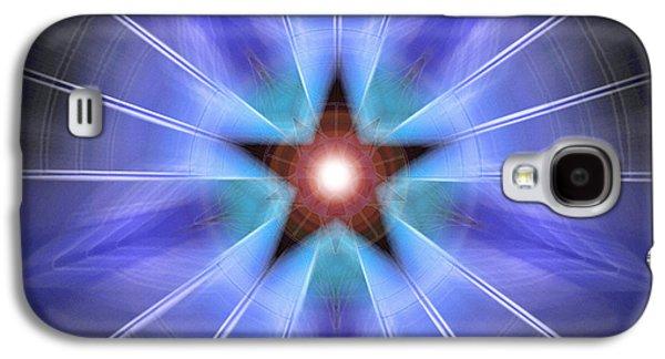 Spiritual Pulsar Galaxy S4 Case by Derek Gedney