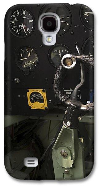 Spitfire Cockpit Galaxy S4 Case by Adam Romanowicz