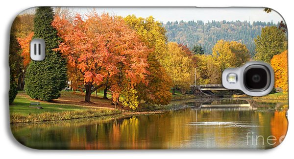 Splash Of Fall Galaxy S4 Case by Beverly Guilliams