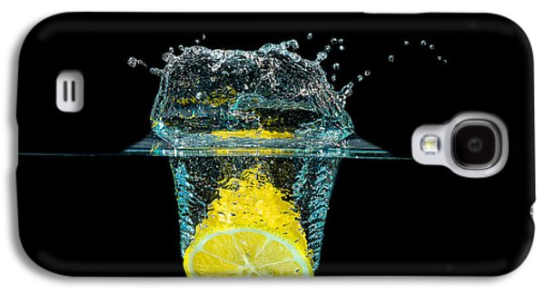 Splashing Lemon Galaxy S4 Case