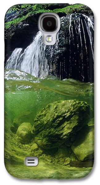 Split-picture From A Waterfall Galaxy S4 Case