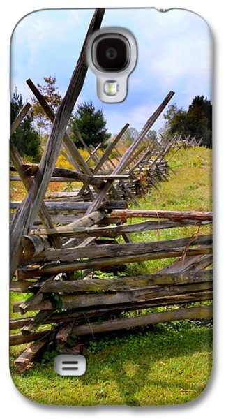Split Rail Galaxy S4 Case by Karen Wiles