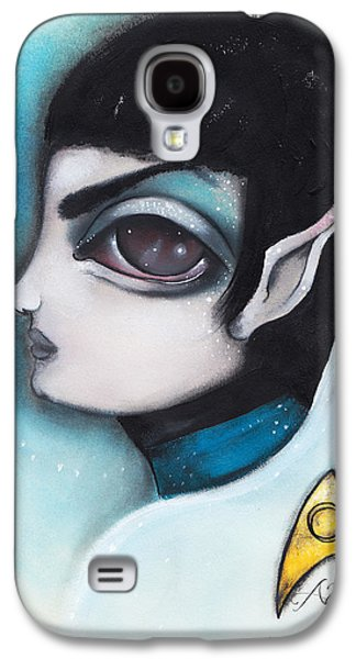 Spock Galaxy S4 Case by  Abril Andrade Griffith