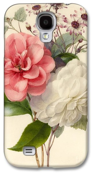 Spray Of Three Flowers Galaxy S4 Case by Marie Anne