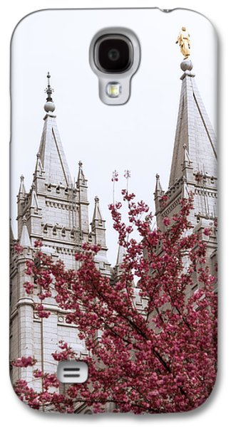 Spring At The Temple Galaxy S4 Case by Chad Dutson