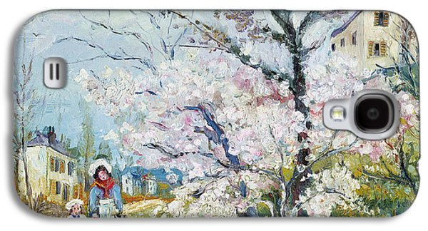 Spring Blossom Galaxy S4 Case by Henri Richet