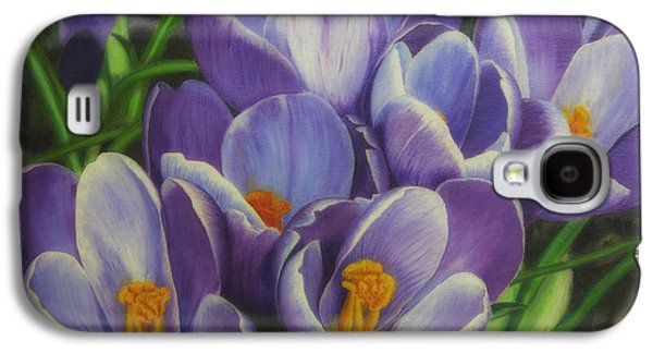 Spring Blossoms Galaxy S4 Case