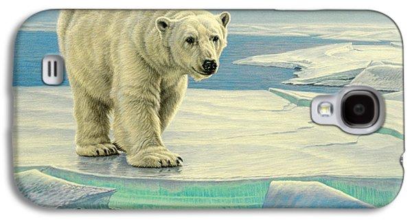 Polar Bear Galaxy S4 Case - Spring Break by Paul Krapf
