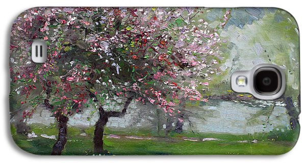 Spring By The River Galaxy S4 Case