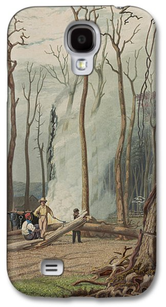 Spring Circa 1841 Galaxy S4 Case by Aged Pixel