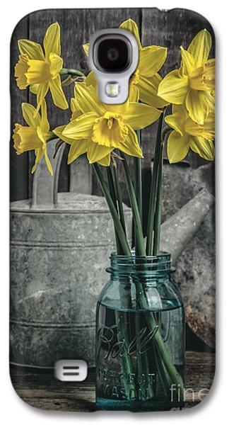 Spring Daffodil Flowers Galaxy S4 Case