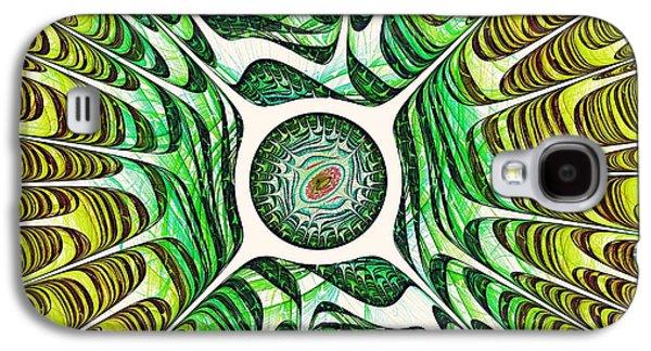 Spring Dragon Eye Galaxy S4 Case by Anastasiya Malakhova