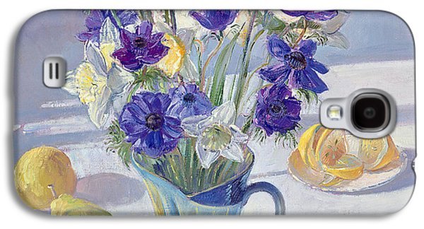 Spring Flowers And Lemons Galaxy S4 Case by Timothy  Easton