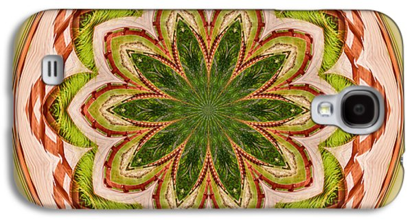 Spring Grasses Mandala Galaxy S4 Case by Bill Barber