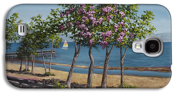 Spring In Kings Beach Lake Tahoe Galaxy S4 Case