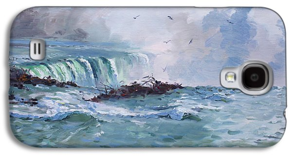 Spring In Niagara Falls Galaxy S4 Case by Ylli Haruni