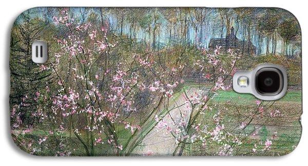 Spring Landscape Galaxy S4 Case by Jenny Montigny