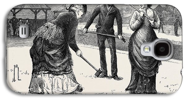Spring Meeting Of The All England Croquet Club At Wimbledon Galaxy S4 Case