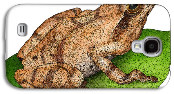Spring Peeper Galaxy S4 Case by Roger Hall