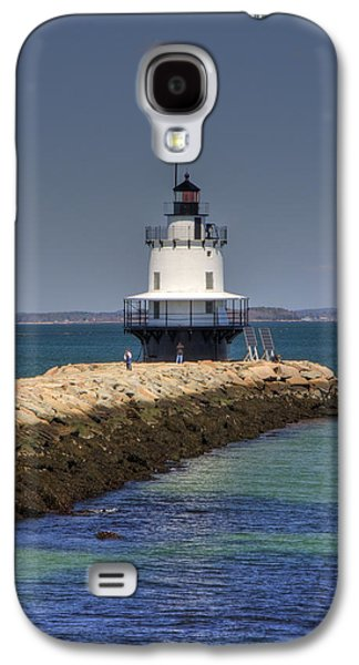 Spring Point Ledge Light Galaxy S4 Case by Joann Vitali