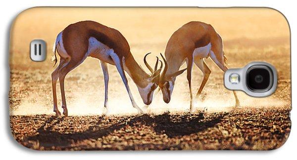 Springbok Dual In Dust Galaxy S4 Case by Johan Swanepoel