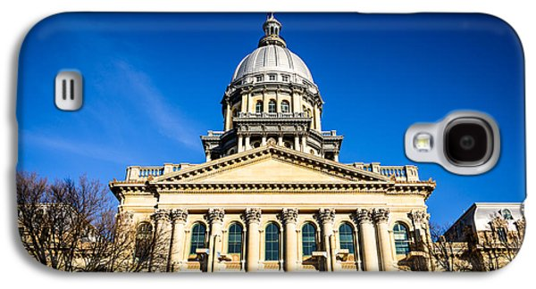 Springfield Illinois State Capitol Building Galaxy S4 Case by Paul Velgos
