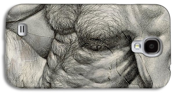 Square Composition 3 Galaxy S4 Case by Chris Lopez