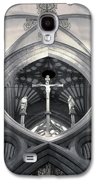 St Andrews Cross Scissor Arches Of Wells Cathedral  Galaxy S4 Case