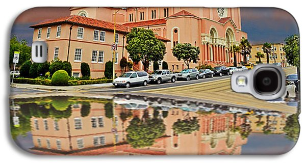 St Anne Church Of The Sunset In San Francisco With A Reflection  Galaxy S4 Case