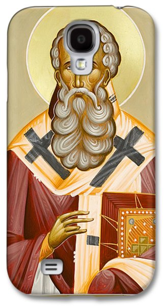 St Athanasios The Great Galaxy S4 Case by Julia Bridget Hayes