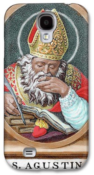 St Augustine (354-430 Galaxy S4 Case by Prisma Archivo