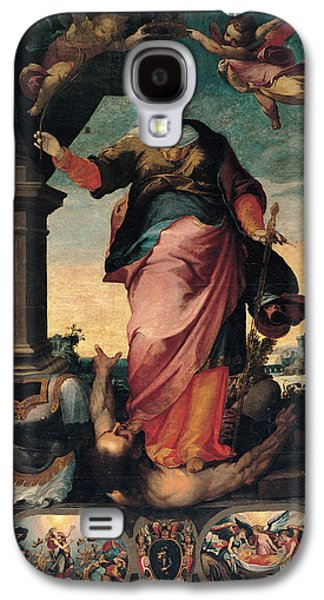 St Catherine Of Alexandria, 1570 - 1611 Galaxy S4 Case