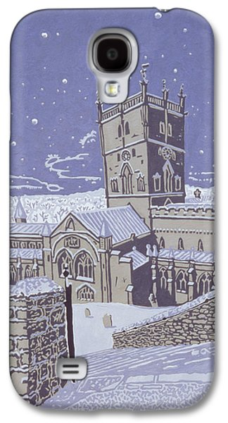 St David S Cathedral In The Snow Galaxy S4 Case by Huw S Parsons