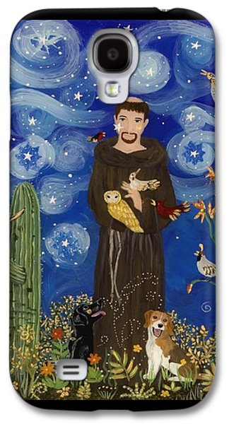 St. Francis Starry Night Galaxy S4 Case