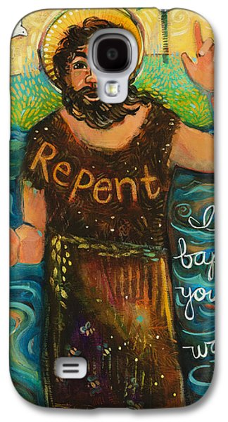 St. John The Baptist Galaxy S4 Case by Jen Norton