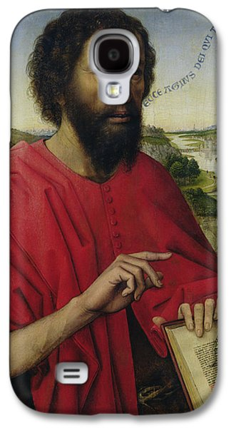 St John The Baptist, Left Hand Panel Of The Triptych Of The Braque Family Galaxy S4 Case by Rogier van der Weyden