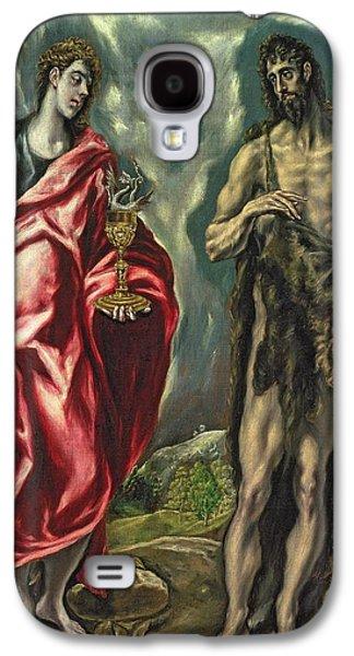 St John The Evangelist And St John The Baptist Galaxy S4 Case