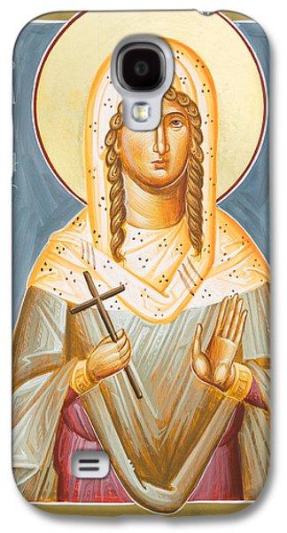 St Julia Of Carthage Galaxy S4 Case by Julia Bridget Hayes