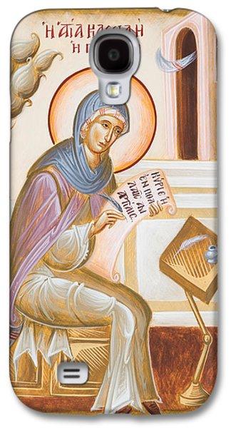 St Kassiani The Hymnographer Galaxy S4 Case by Julia Bridget Hayes
