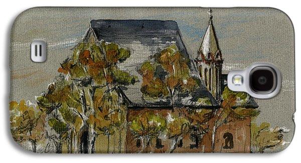St Leonhardskirche Galaxy S4 Case by Juan  Bosco