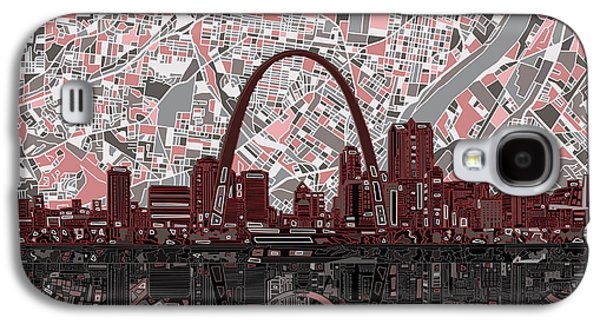 St Louis Skyline Abstract 7 Galaxy S4 Case