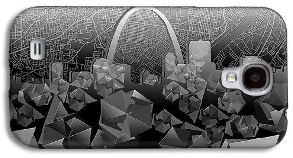 St Louis Skyline Geometric Galaxy S4 Case